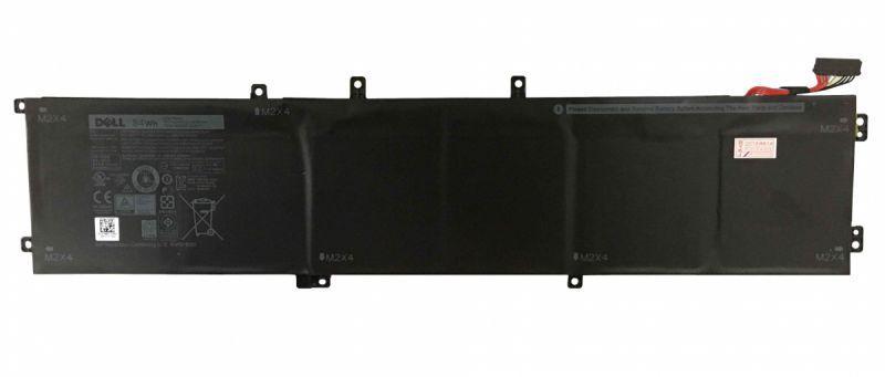 Оригинальная аккумуляторная батарея для ноутбука Dell 4GVGH XPS 13-9550 11.4V Black 7260mAh