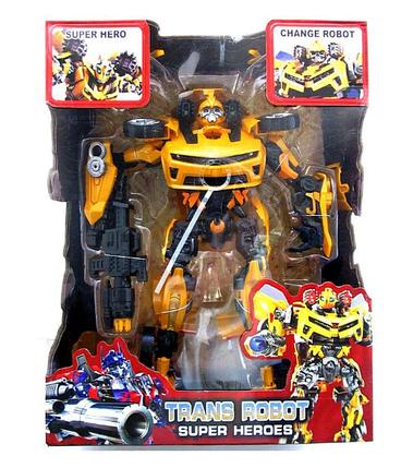 Робот-трансформер Величезний Bumblebee Бамблбі інтерактивний ABC, фото 2