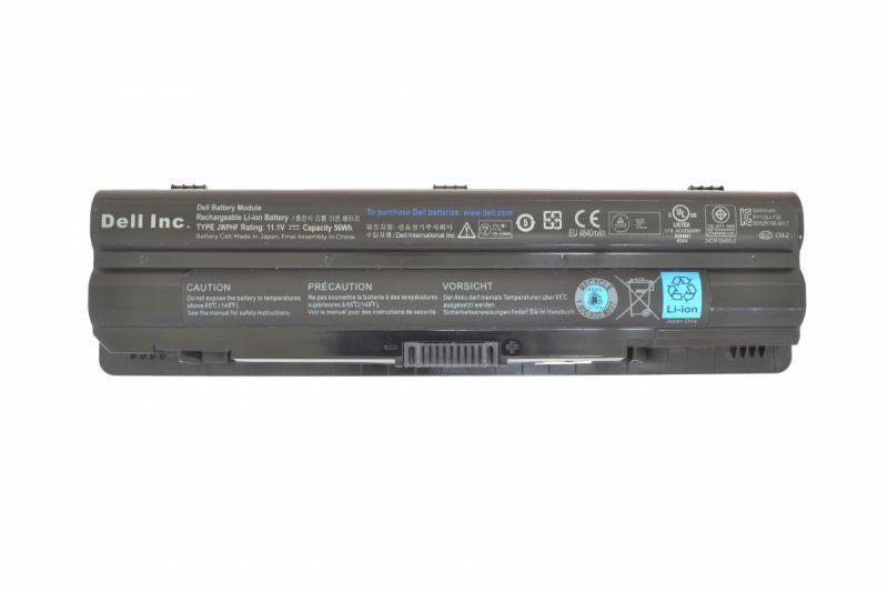 Оригинальная аккумуляторная батарея для ноутбука Dell J70W7 11.1V Black 5200mAh