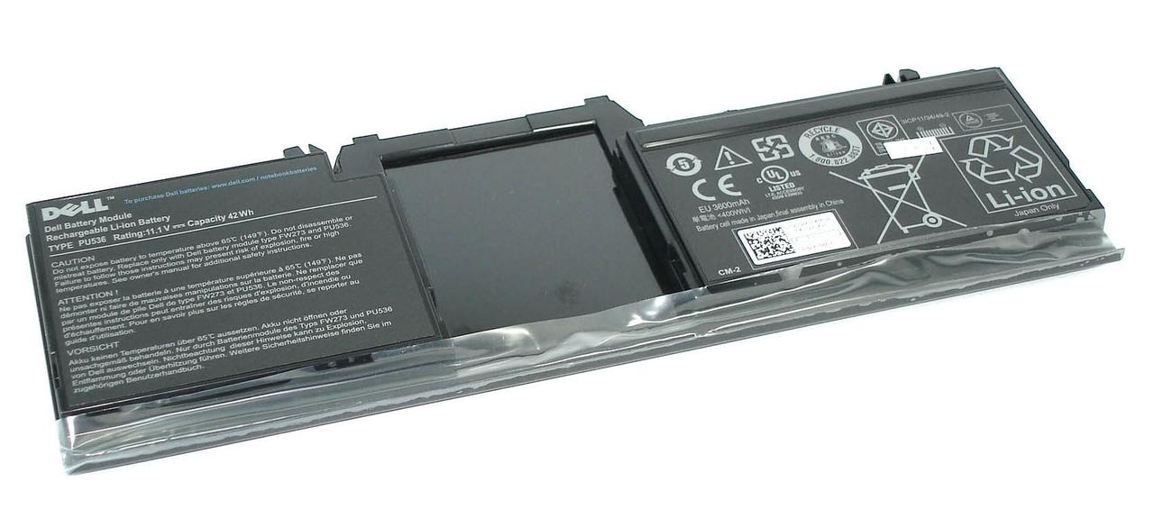Оригинальная аккумуляторная батарея для ноутбука Dell PU536 Latitude XT 11.1V Black 3600mAh