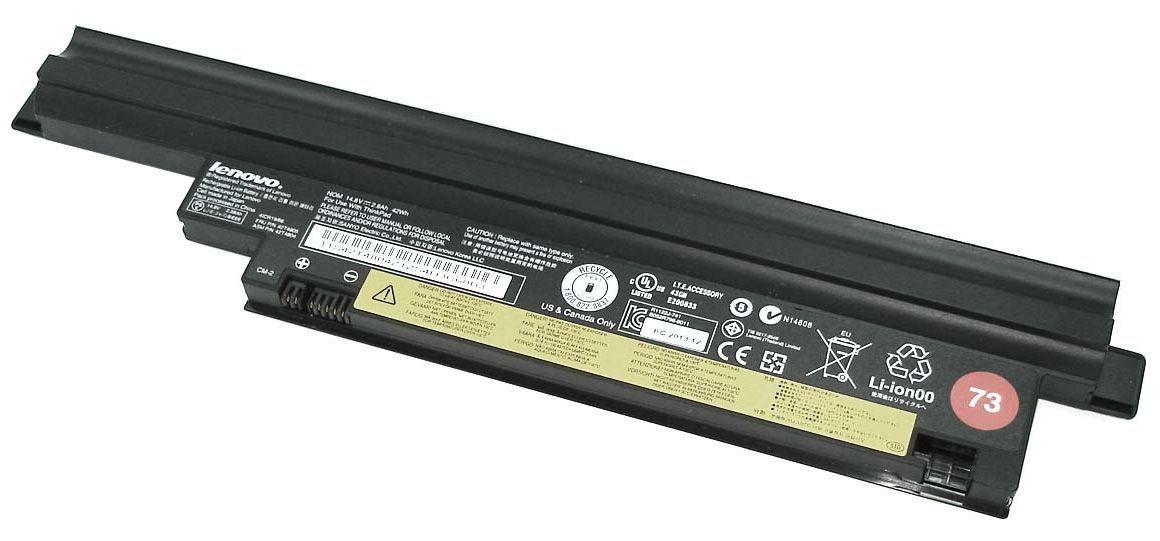 """Аккумуляторная батарея для ноутбука Lenovo 42T4805 ThinkPad Edge 13"""" 14.8V Black 2800mAh Orig"""