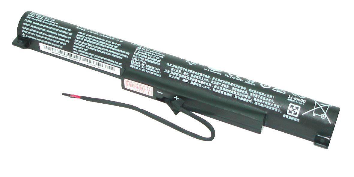 Оригинальная аккумуляторная батарея для ноутбука Lenovo L14C3A01 IdeaPad 100-15 10.8V Black 2150mAh