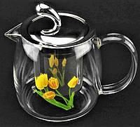 Чайник-заварник стеклянный 500мл А-Плюс