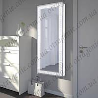 Зеркало с лед подсветкой на 5 Вт в прихожую 500х1100 | дзеркало з лед підсвіткою