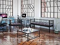 Кресло и Диван 3-х местный Грин Трик в стиле Лофт