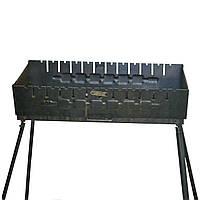 Мангал чемодан 2 мм 12 шампуров (РК-212746)