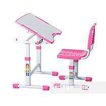 Комплект парта і стілець-трансформери FunDesk Sole II Pink - ОПТОМ ДЛЯ ШКІЛ, фото 3
