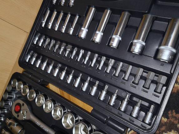 """Набір інструментів FORCE 94 предмета 12-гранний 1/4"""" і 1/2"""", фото 2"""