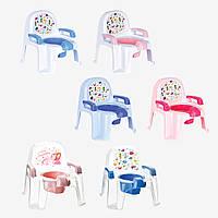 Детский горшок-стульчик  РОЗОВЫЙ АФАКАН, CM-135 Irak plastik, Турция