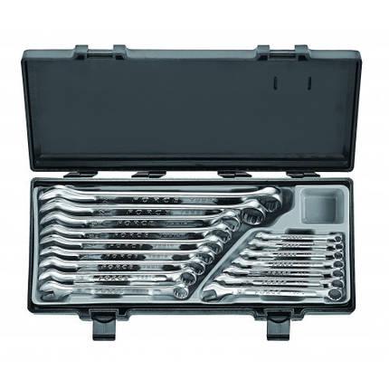 Набор рожково-накидных ключей FORCE 16 предметов (6-24 мм) в кейсе, фото 2