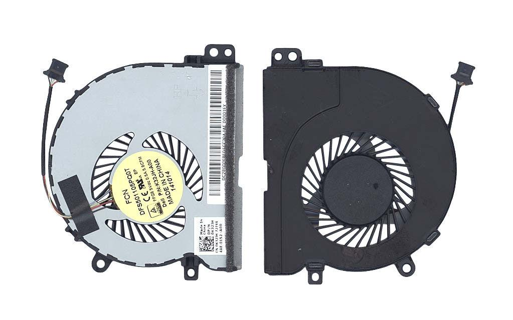 Вентилятор для ноутбука Dell Latitude E3450, E3550 5V 0.5 A 4-pin FCN
