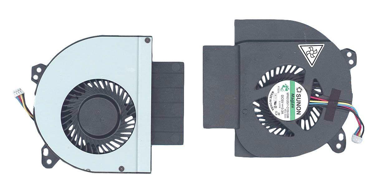 Вентилятор для ноутбука Dell Latitude E6520 5V 0.3A 4-pin SUNON
