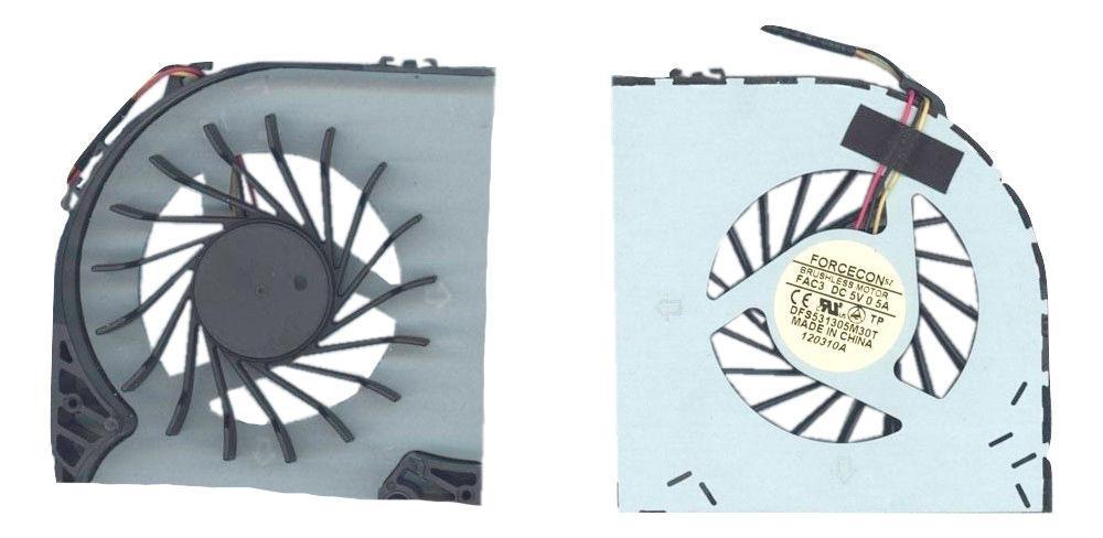 Вентилятор для ноутбука LG A510, A515, A520, A530 5V 0.5 A 3-pin Forcecon