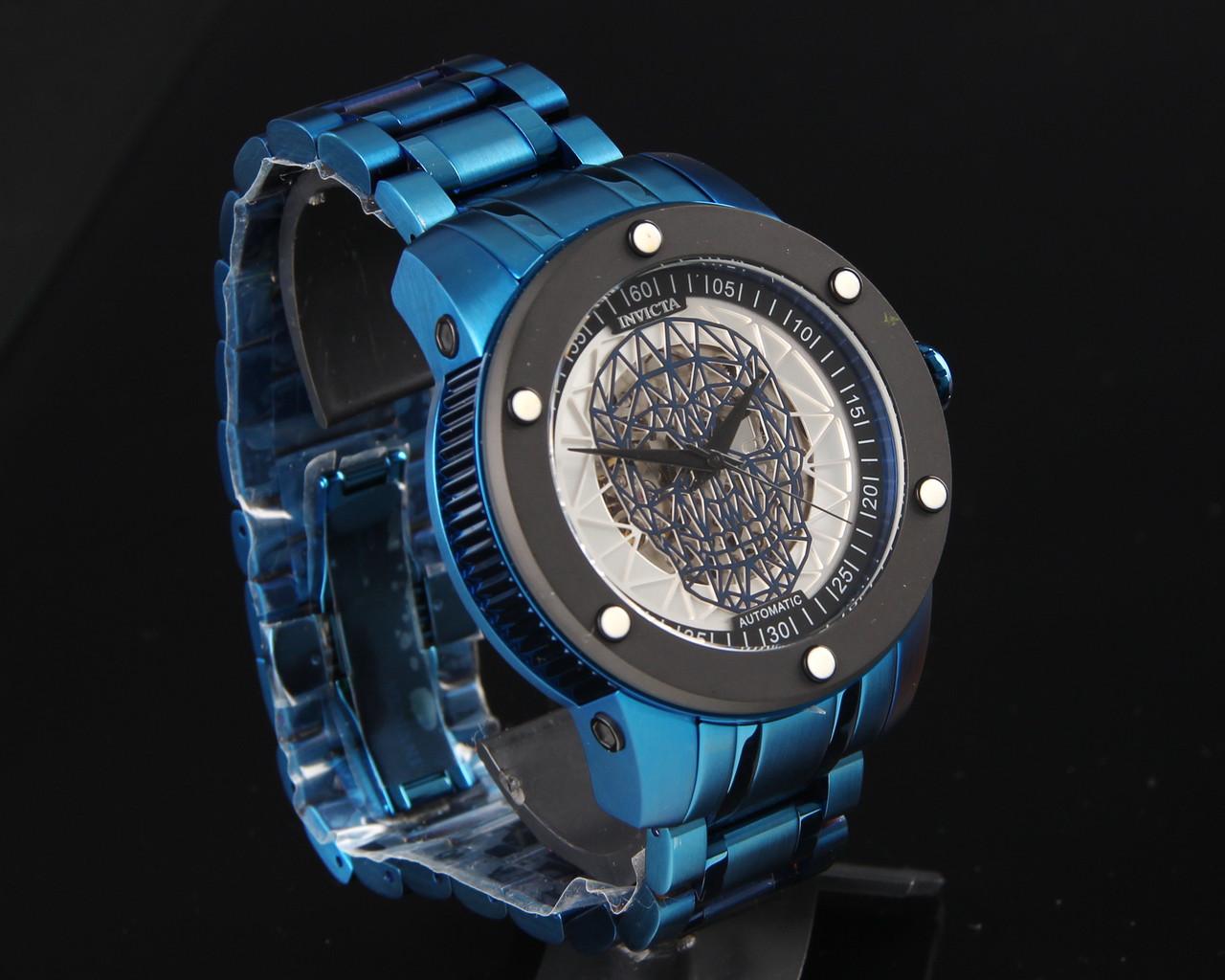 Мужские часы Invicta 27617 Speedway Skull Edition Automatic