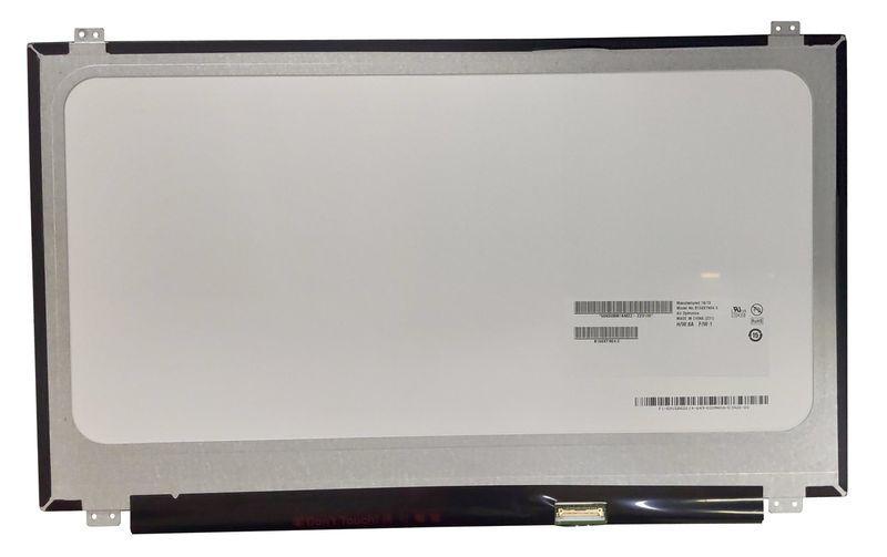 "Матрица для ноутбука 15,6"", Slim (тонкая), 30 pin eDP (снизу справа), 1366x768, Светодиодная (LED), крепления"