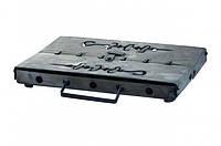 Мангал-чемодан DV - 8 шп. x 1.5 мм горячекатаный (Х006)