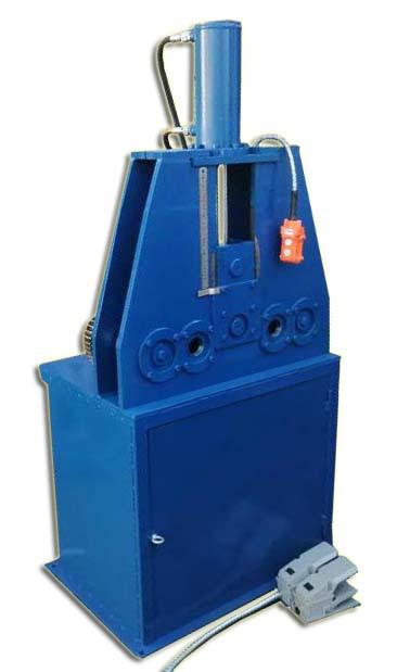 Cтанок профилегибочный гидравлический | промышленный трубогиб профилегиб электрогидравлический PRG76 PsTech