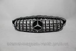 Решетка радиатора Mercedes C-class W205 GT 2014+