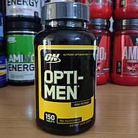 Optimum Nutrition Opti Men 150 tabs Опти Мен ON Opti Men мужские витамины для спорта и минералы