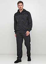 Спортивний костюм чоловічий темно-сірий Godsend меланж, 5XL,6XL
