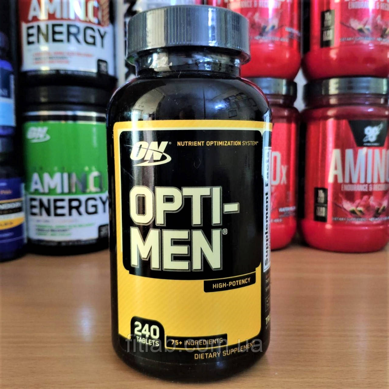 Optimum Nutrition Opti Men 240 tabs Оптимум Опти Мен Opti Men мужские спортивные витамины