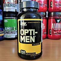 Вітаміни Optimum Nutrition Opti-Men 240 tabs Оптимум Опти Мен Opti ON Men