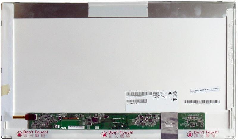 "Матрица для ноутбука 17,3"", Normal (стандарт), 40 pin (снизу справа), 1600x900, Светодиодная (LED), без"