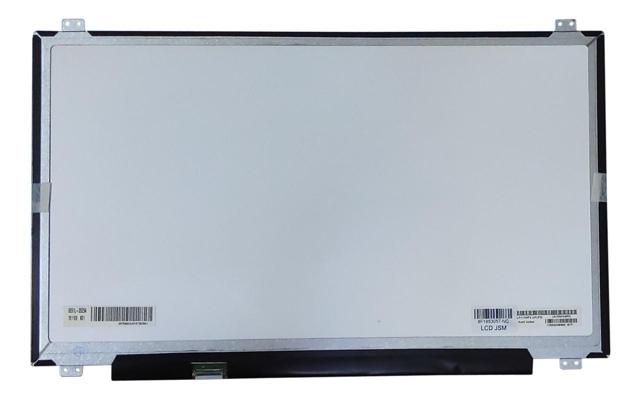 """Матрица для ноутбука 17,3"""", Slim (тонкая), 30 pin (снизу слева), 1920x1080, IPS, Светодиодная (LED), крепления"""