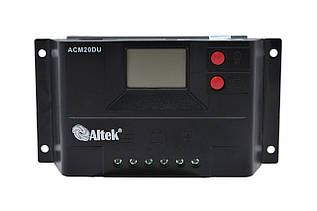 Контролер заряду Altek ACM20D-10+USB