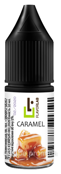 Ароматизатор Flavor Lab Caramel (Карамель) 10мл
