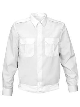 Рубашка форменная длинный рукав цвет белый