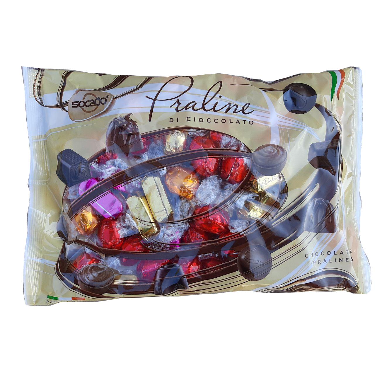 Шоколадные конфеты Темный шоколад ASSORTED1 кг 1/6 шт Сокадо