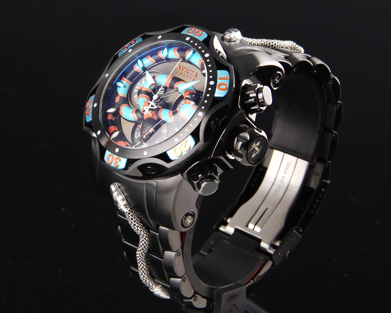 Мужские часы  Invicta 32038 Reserve Venom Snake