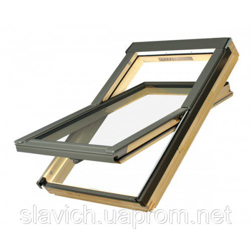 Мансардне вікно Обертальне Fakro Standard Top FTS-V U2 66х118