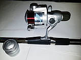 Комплект Спиннинг+Катушка с поплавочной оснасткой  2,4м, фото 3