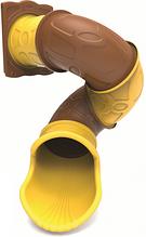 Горка труба винтовая для игровой площадки 200 см