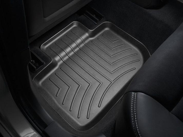 Ковры резиновые WeatherTech  Dodge Charger  2011+  задние черные