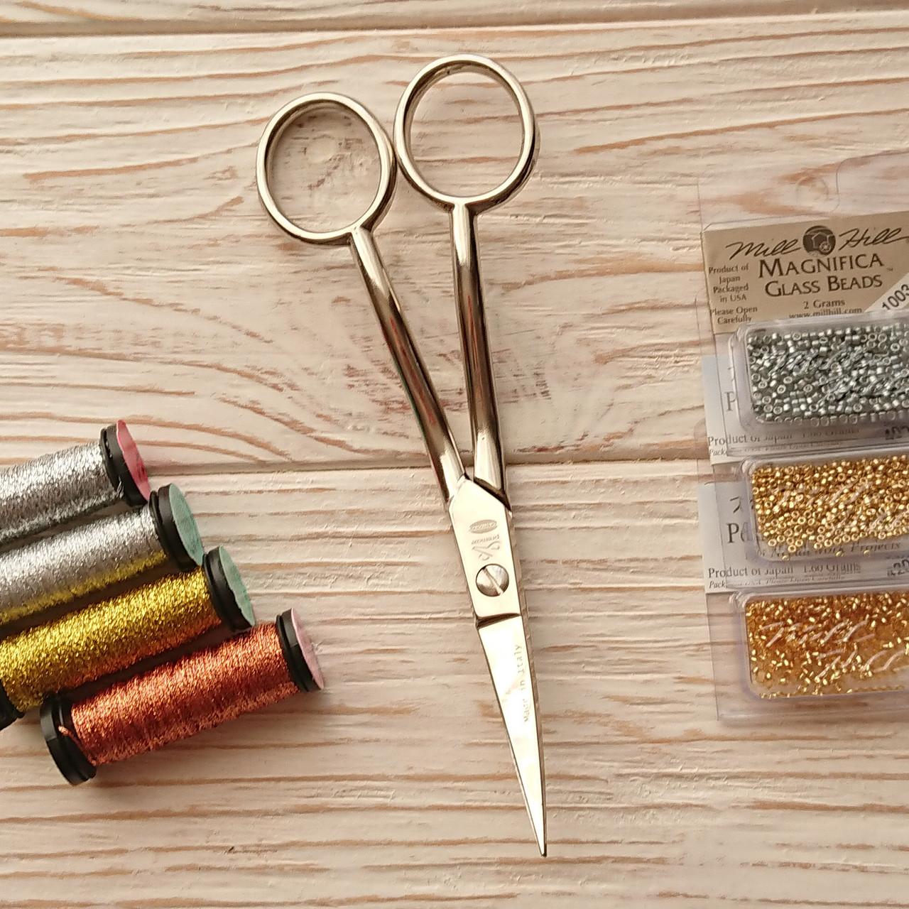 Ножницы (изогнутый кончик) Premax CLASSICA Collection - Ricamo 10977
