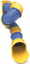 Горка труба спиральная для игровой площадки 285 см