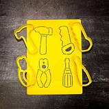 Формочки-вырубки для пряников Набор инструментов №3, фото 2