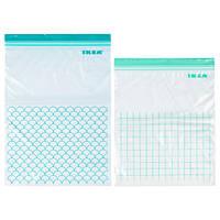 Пакет пластиковый для заморозки IKEA ISTAD светлая бирюза 803.392.81