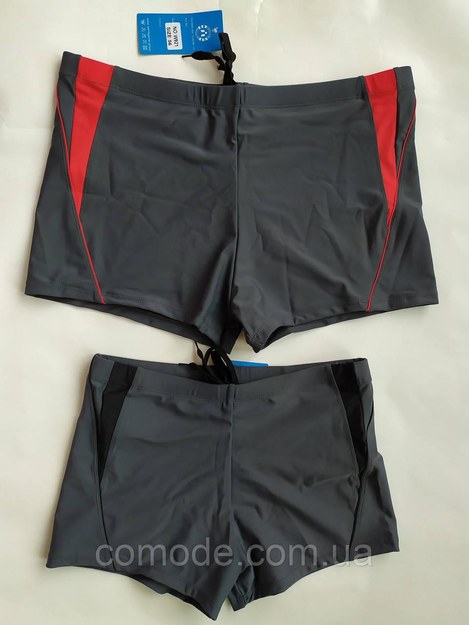 Плавки-шорты мужские Серые