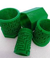 Головоломка -лабиринт сложный- Матрешка. Зеленый