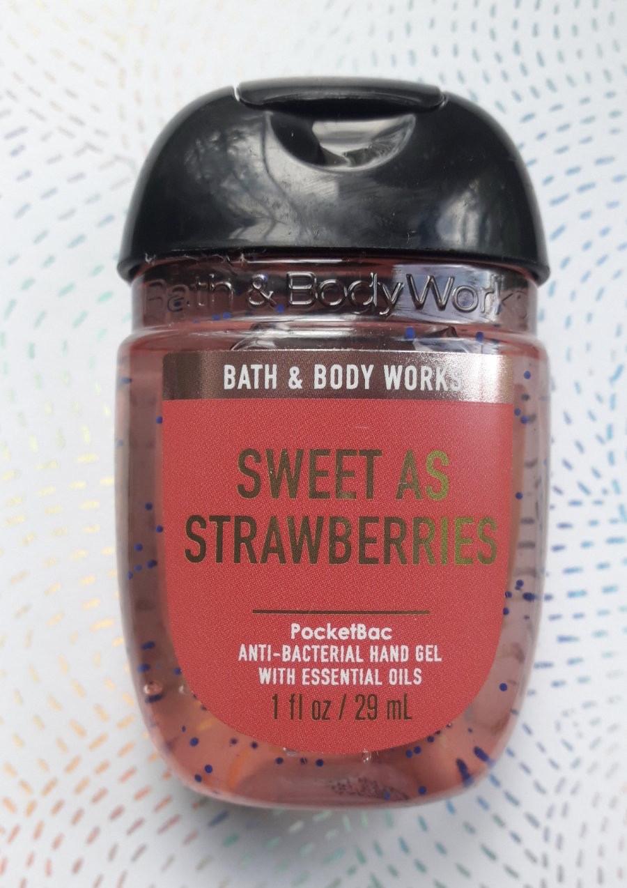 """Санитайзер для рук """"Клубника сладкая"""" Bath and Body Work"""