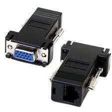 Удлинитель VGA по витой паре UTP - пара (2 штуки)