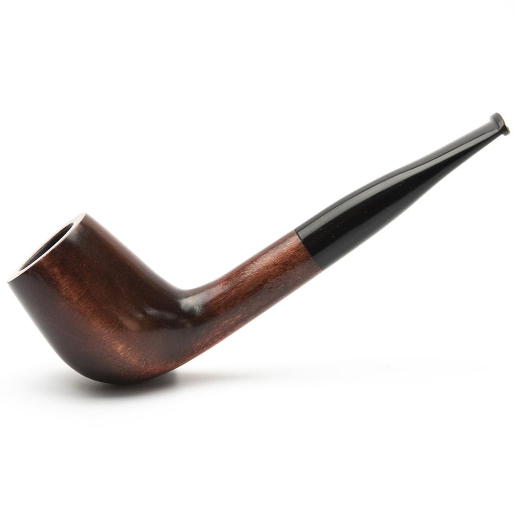 Деревянная трубка для курения табака прямая KAF230 не под фильтр