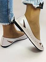 Стильные! Женские туфли -балетки из натуральной кожи 36.37.38.39.Mario Muzi Супер комфорт.Vellena, фото 9