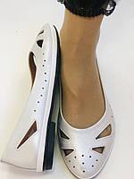 Стильные! Женские туфли -балетки из натуральной кожи 36.37.38.39.Mario Muzi Супер комфорт.Vellena, фото 5