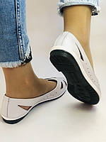 Стильные! Женские туфли -балетки из натуральной кожи 36.37.38.39.Mario Muzi Супер комфорт.Vellena, фото 8