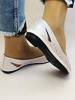 Стильные! Женские туфли -балетки из натуральной кожи 36.37.38.39.Mario Muzi Супер комфорт.Vellena, фото 7